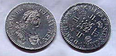 French Silver Coin 1717